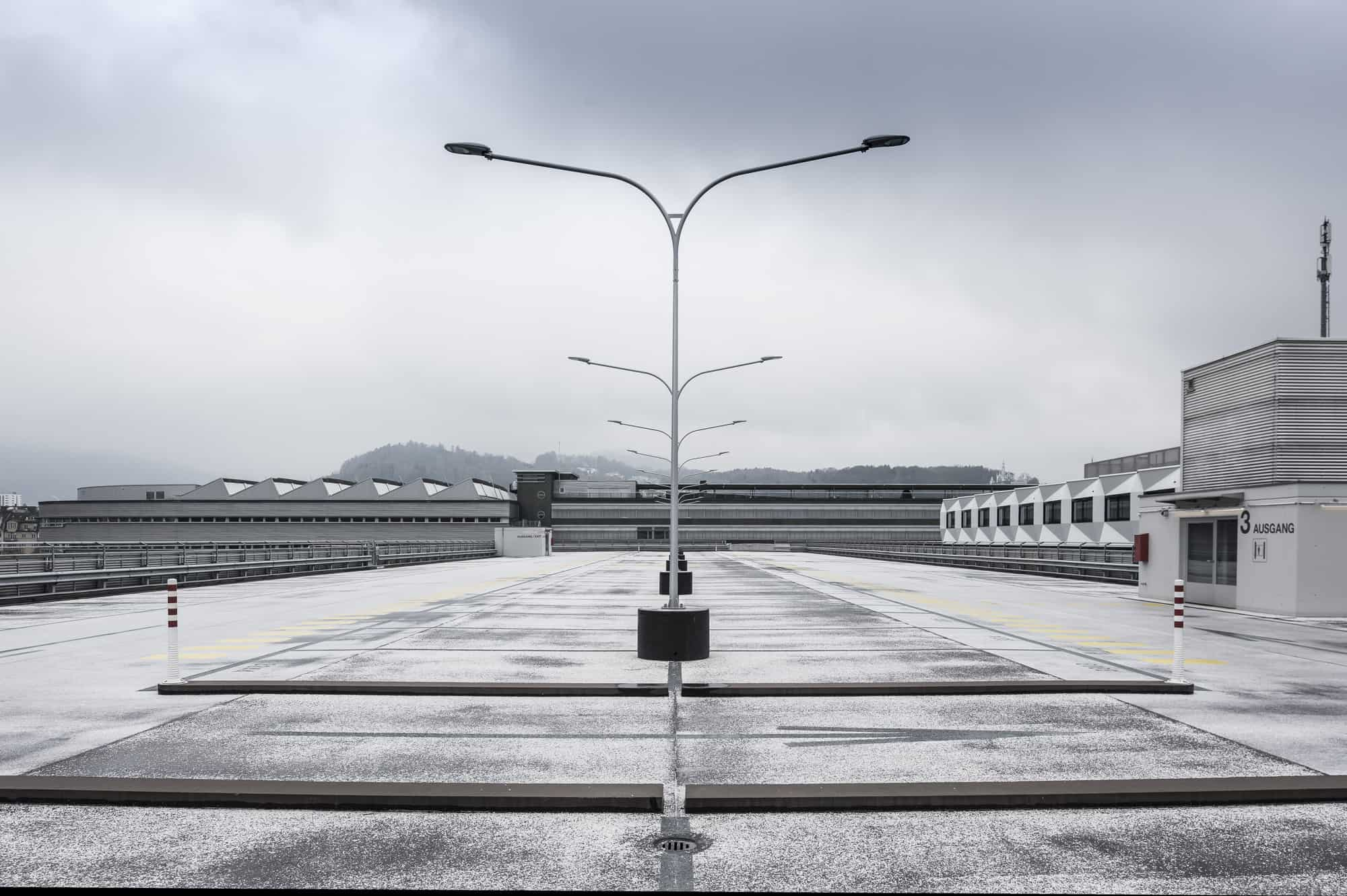 Parking Luzern Architekturfotografie Architektur Markus Lehner