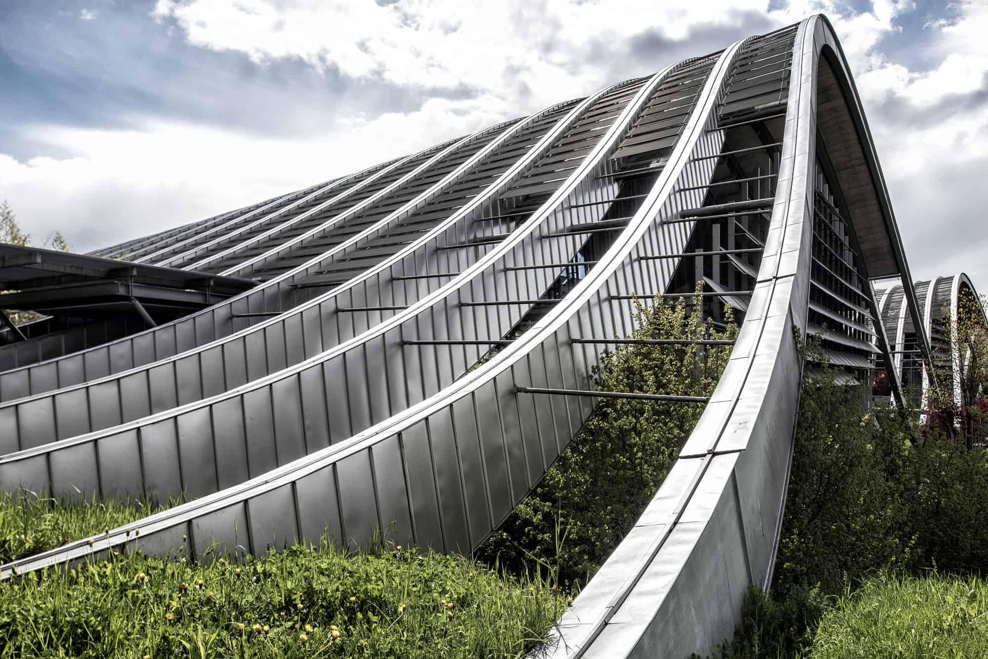 Paul Kleee Zentrum Bern Architekturfotografie Architektur Markus Lehner