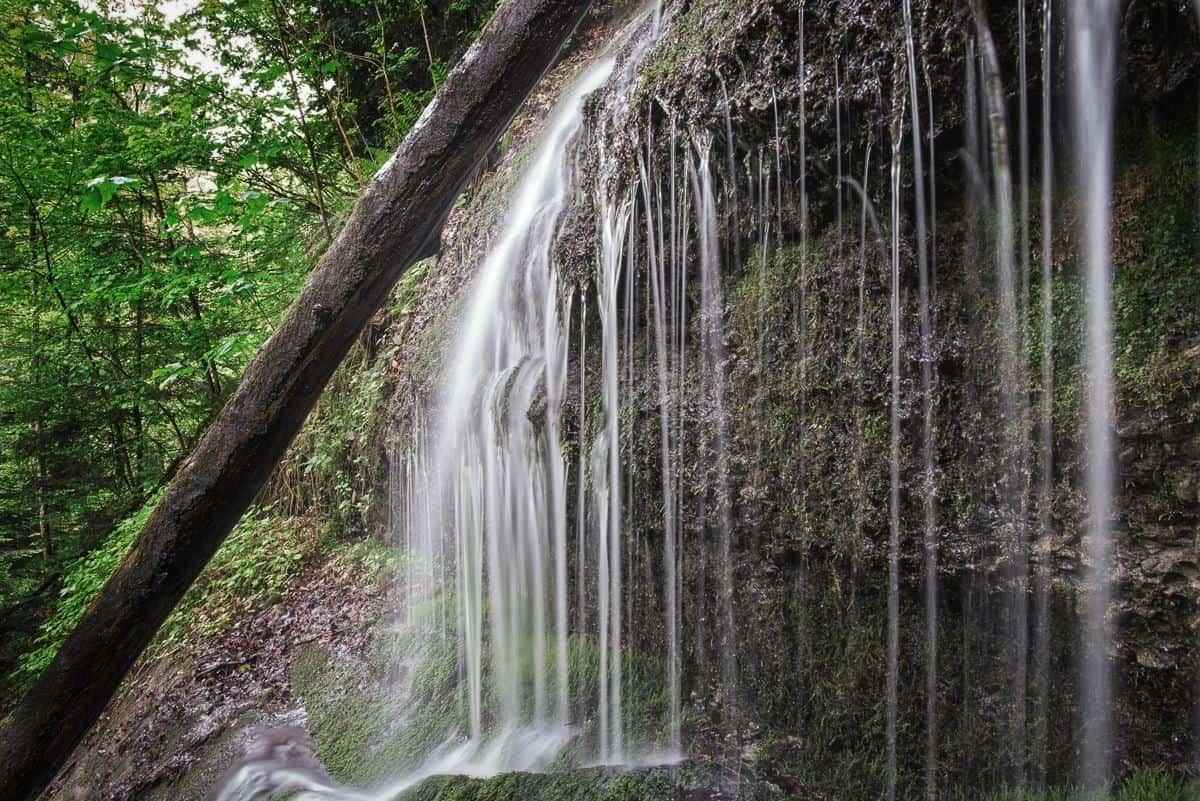 Wasserfall, Tuggen