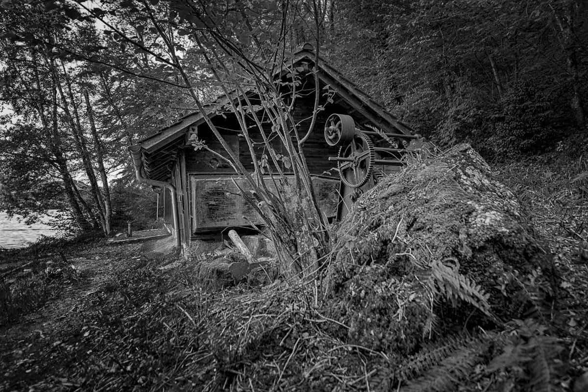 Fotograf Markus Lehner, Steinbruch Zürichsee