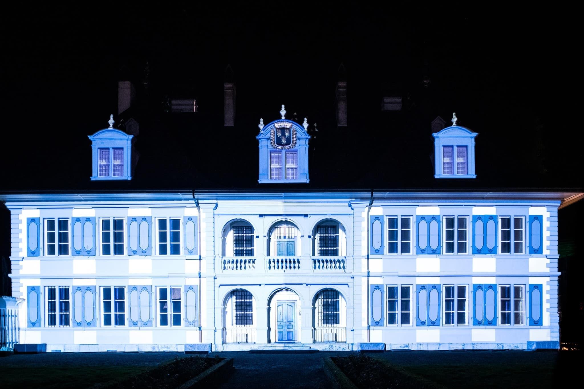Schloss Oberdiessbach Lichterfestival