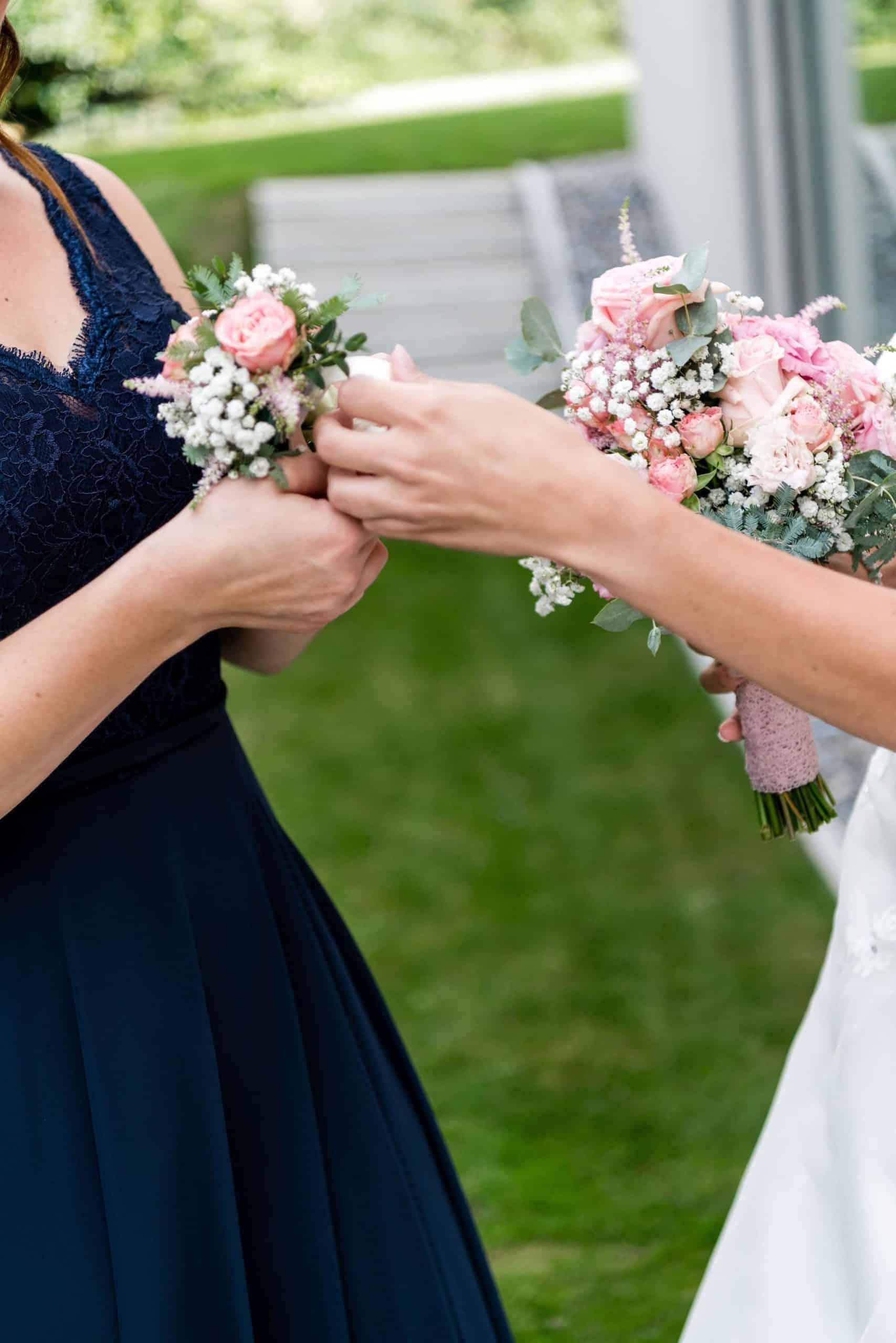 Hochzeit Detail