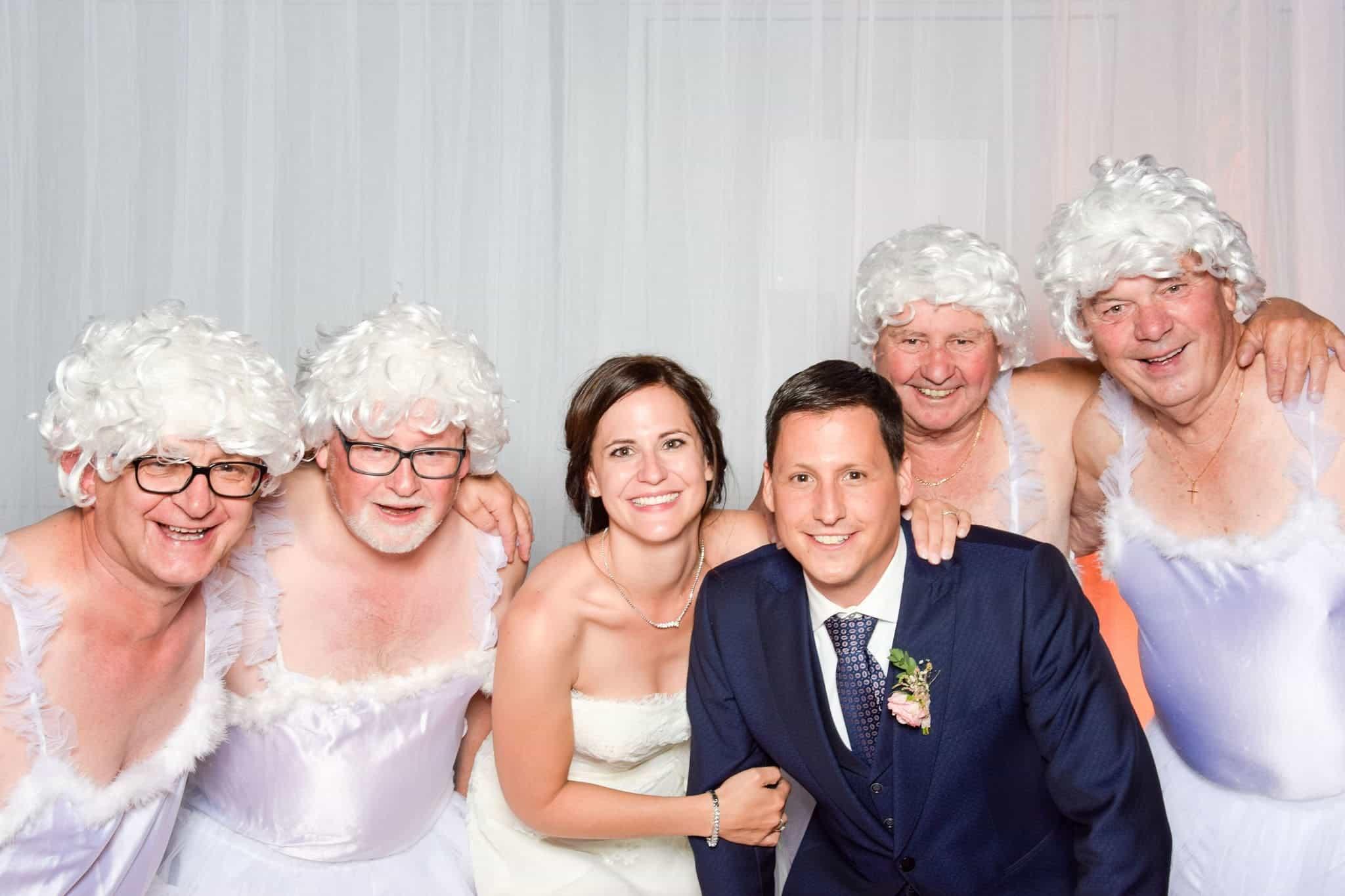 Hochzeit Fotokasten