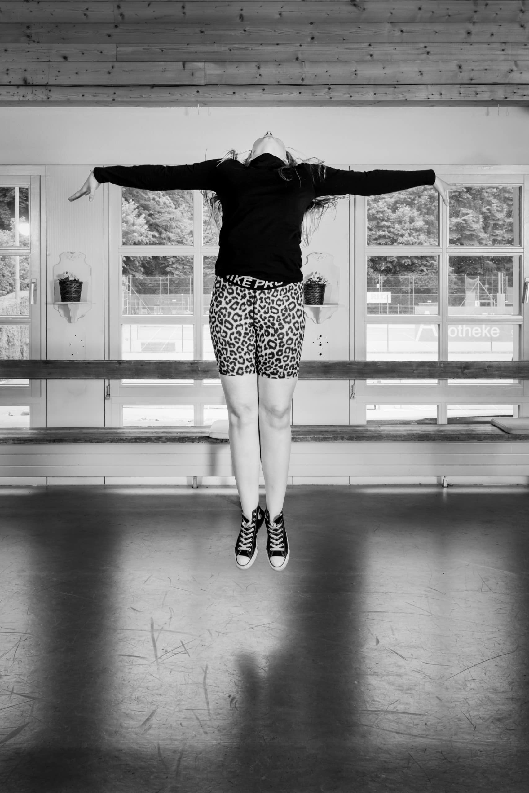 Tanzsshooting Sprung