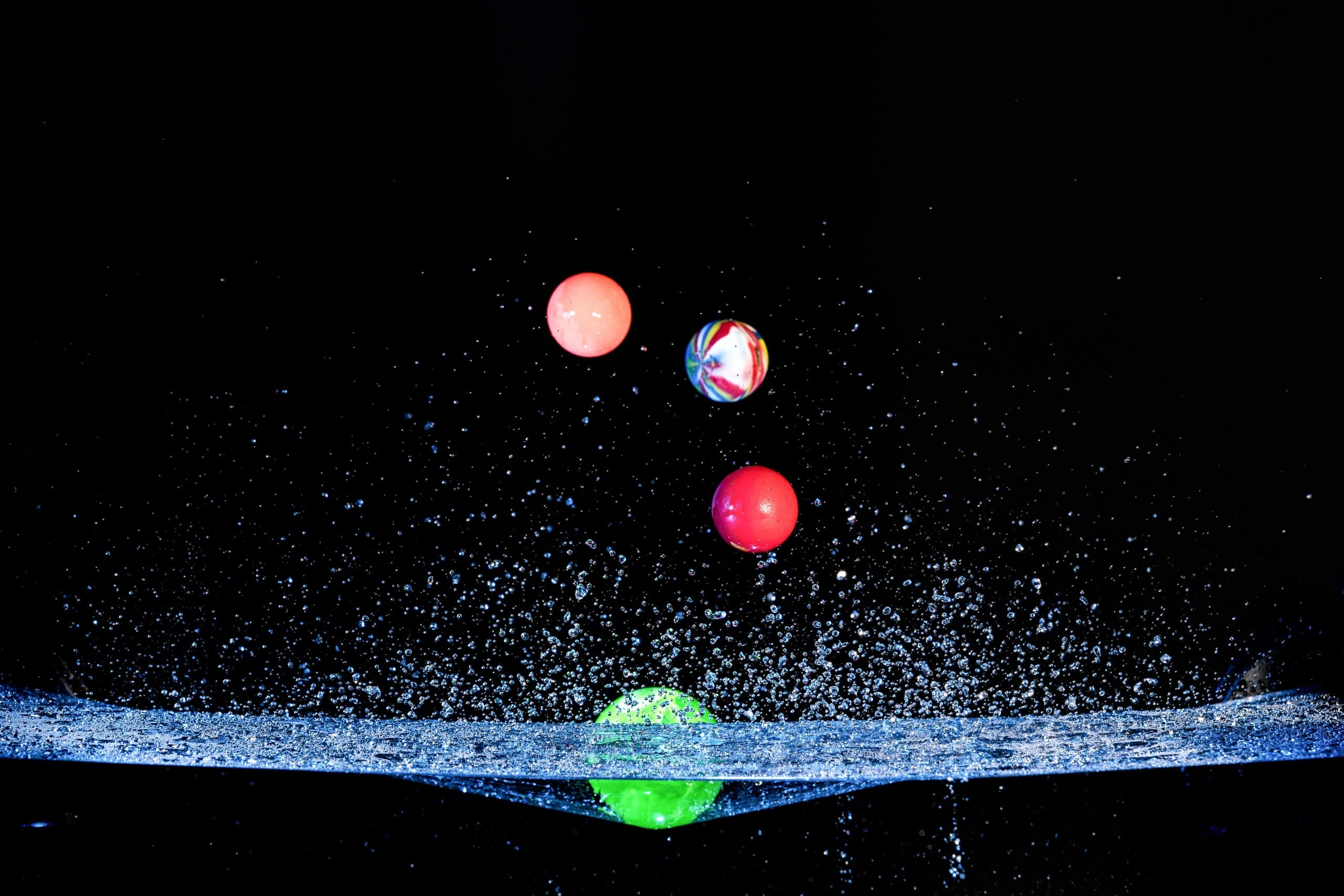 Effektfotografie Ball