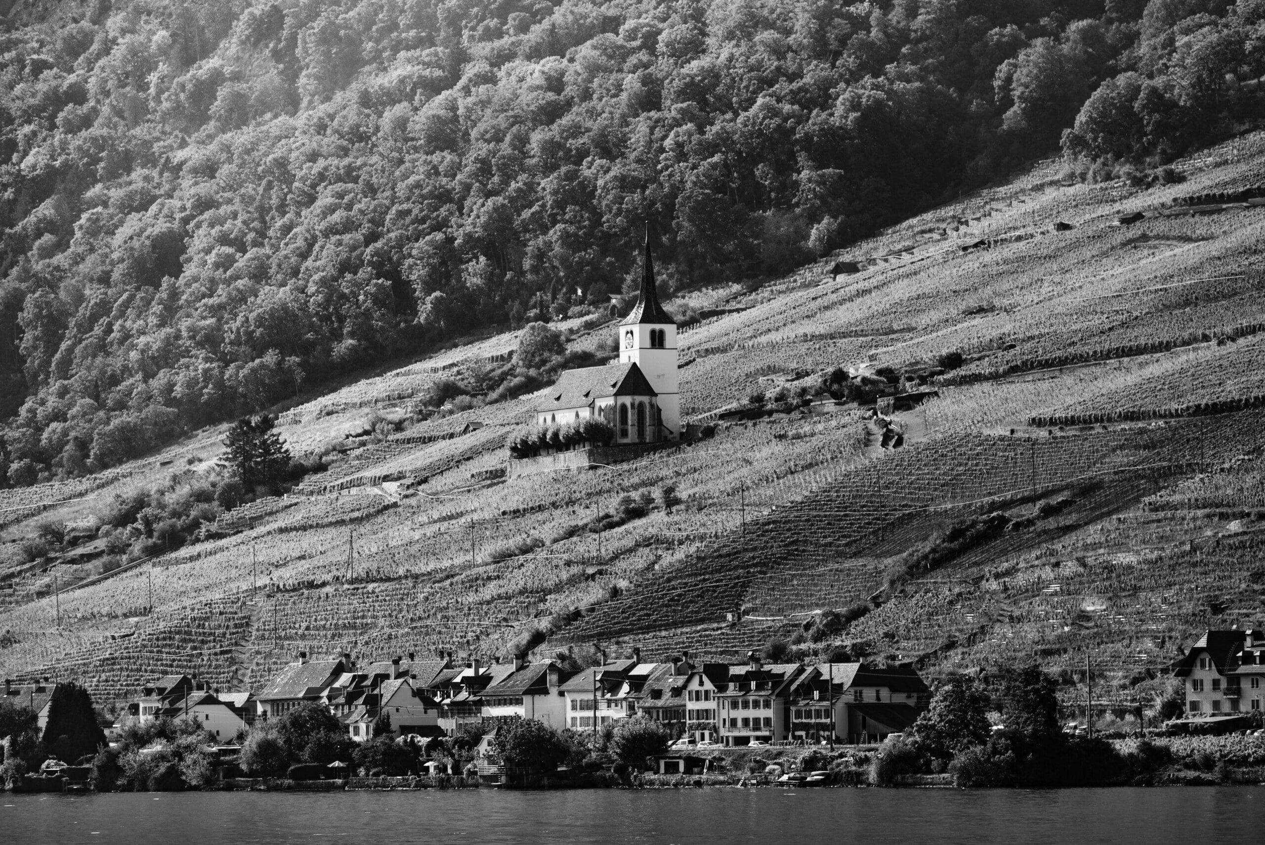 Kirche Ligerz Bielersee